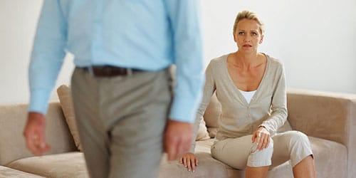 разойтись с супругом