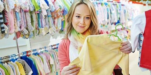 покупать одежду для новорожденных