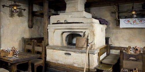 старая печка