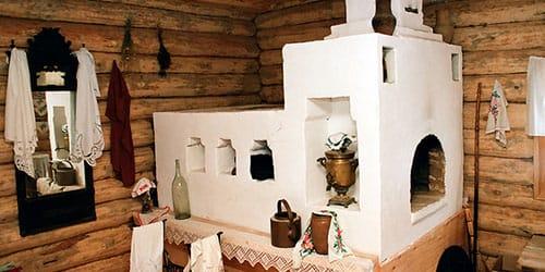 деревенская печь