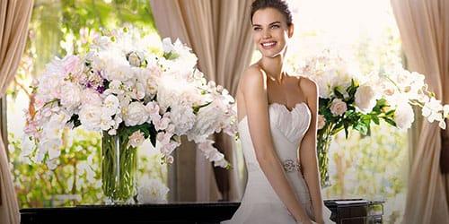 девушка в белом платье