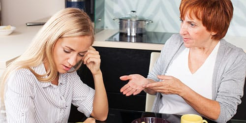 ссориться с мамой во сне