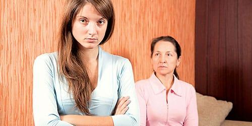 разлад отношений с матерью