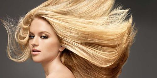 девушка блондинка