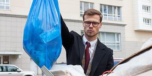 к чему снится выносить мусор