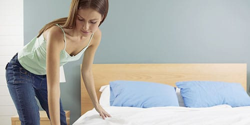к чему снится заправлять постель