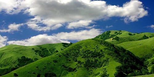 видеть зеленые горы во сне
