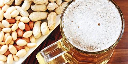 орешки с пивом