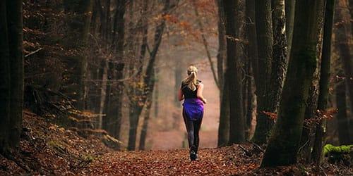 к чему снится бежать по лесу