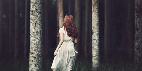 темно в лесу