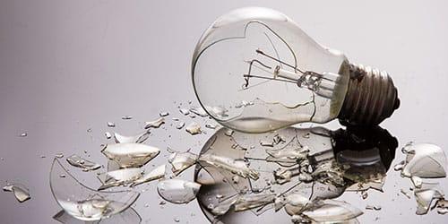 к чему снится битое стекло