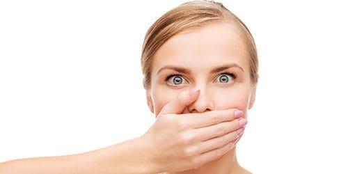 закрывать рот