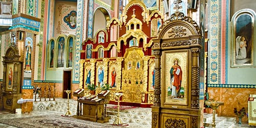 православная церквушка