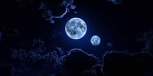 видеть во сне две луны
