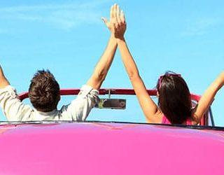 Ехать в машине с любимым