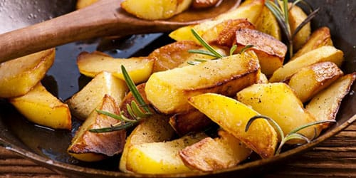 есть картошку во сне