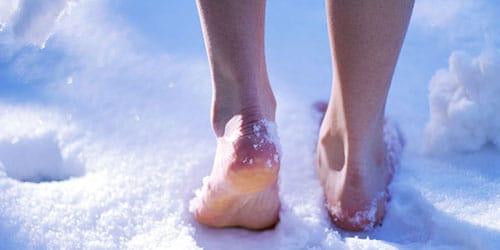ходить по снегу во сне
