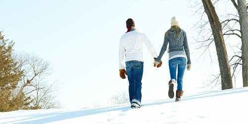к чему снится ходить по снегу