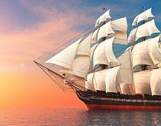 Корабль на воде