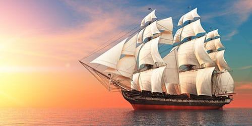 видеть во сне корабль на воде