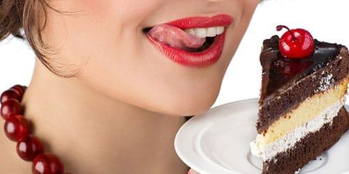бисквит с шоколадным кремом