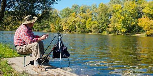 рыбачить на удочку
