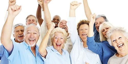 пожилые люди
