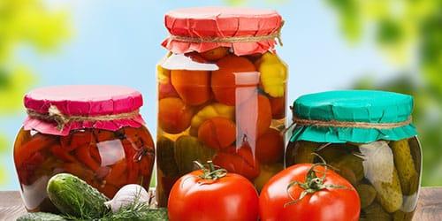законсервированные овощи