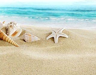 Пляж песок