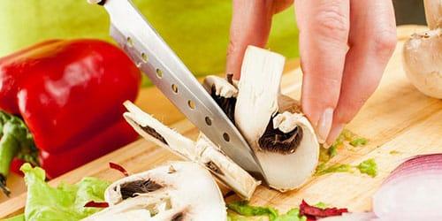 резать продукты