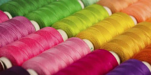 разноцветные ниточки
