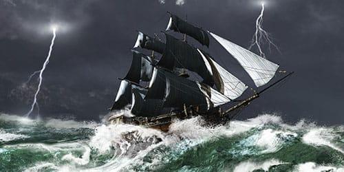 к чему снится шторм на море