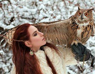 Сонник сова в руках