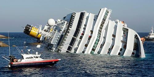 к чему снится тонущий корабль