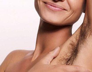 Волосатые подмышки