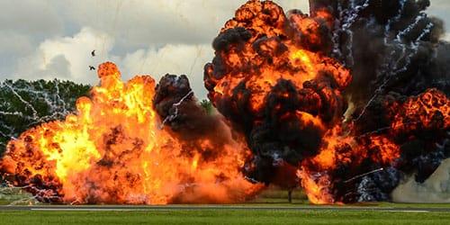 взрывы