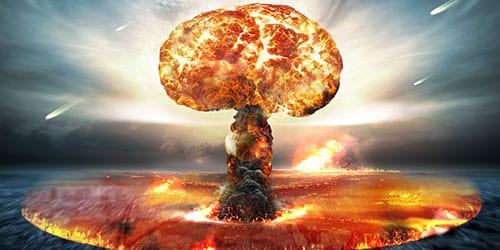 подрыв атомной бомбы