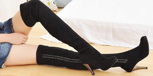 сапожки на ногах