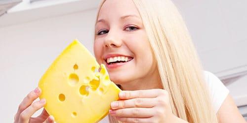 есть сыр во сне