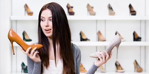 к чему снится купить туфли