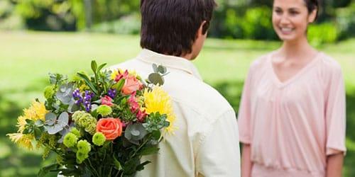 во сне подарили букет цветов