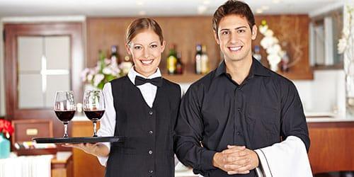 официанты