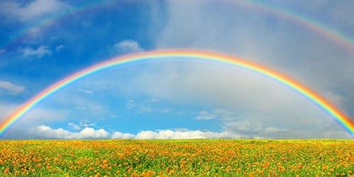 видеть во сне радугу в небе