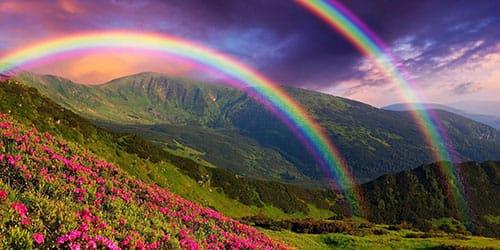 К чему снится радуга цветная