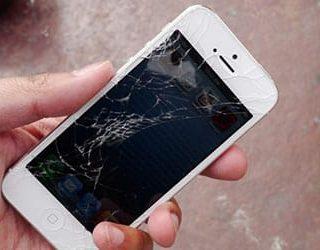 Разбить телефон