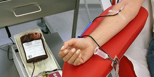 забор крови