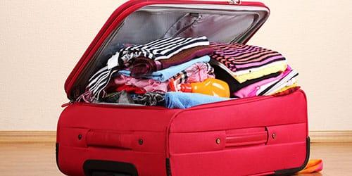 набитый чемоданчик