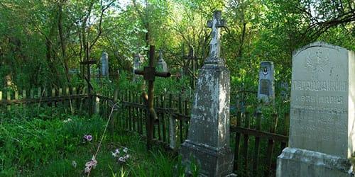 к чему снится старое кладбище