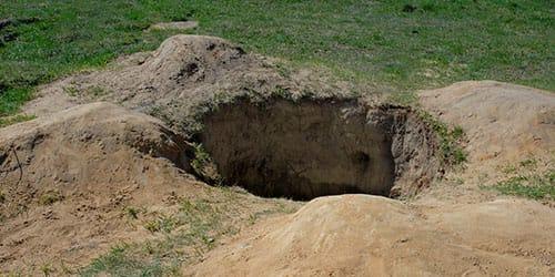 видеть во сне яму в земле