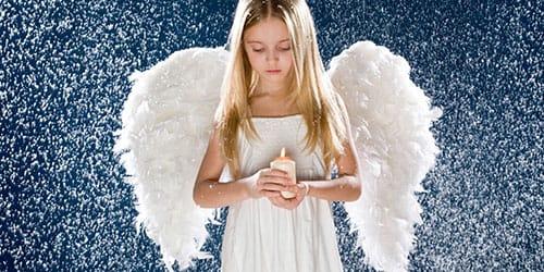 видеть во сне ангела с крыльями